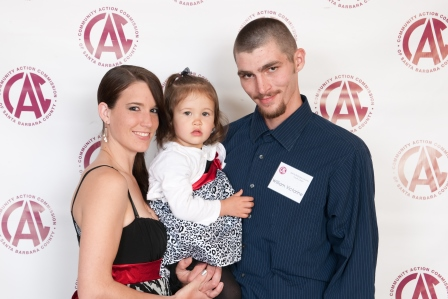Bailey West, Bill Victorine and daughter