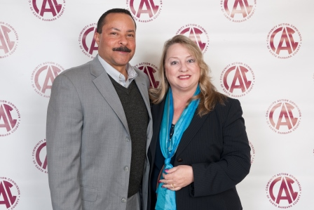 Ed Cora, Superintendent of Guadalupe Union School District and his wife, Denise Cora