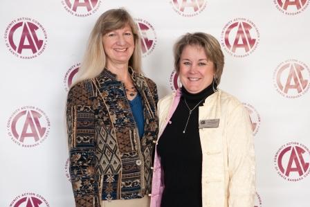 LuAnn Miller, Isla Vista Youth Projects and Karen Dominquez, Santa Maria-Bonita School District and CAC Board of Directors