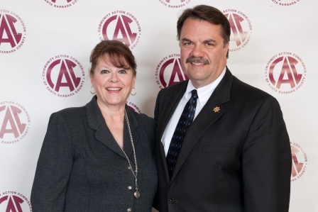 Donna Brown and Sheriff Bill Brown