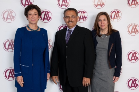 2013 Champions:  Joyce Dudley, Miguel Chavez, and Lois Mitchell representing the Orfalea Foundation.