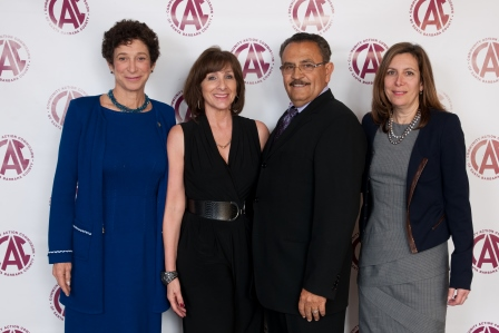 Joyce Dudley, Fran Forman, Miguel Chavez and Lois Mitchell